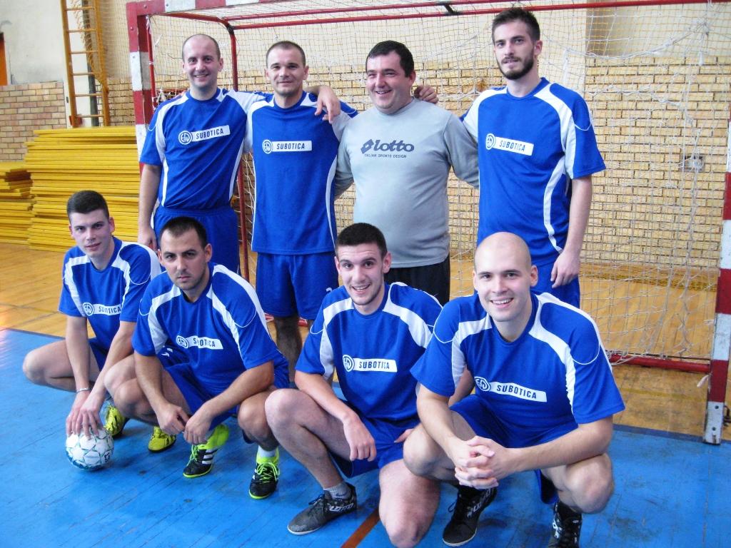 Drugoplasirana ekipa bečejske grupe EPS Distribucija Subotica