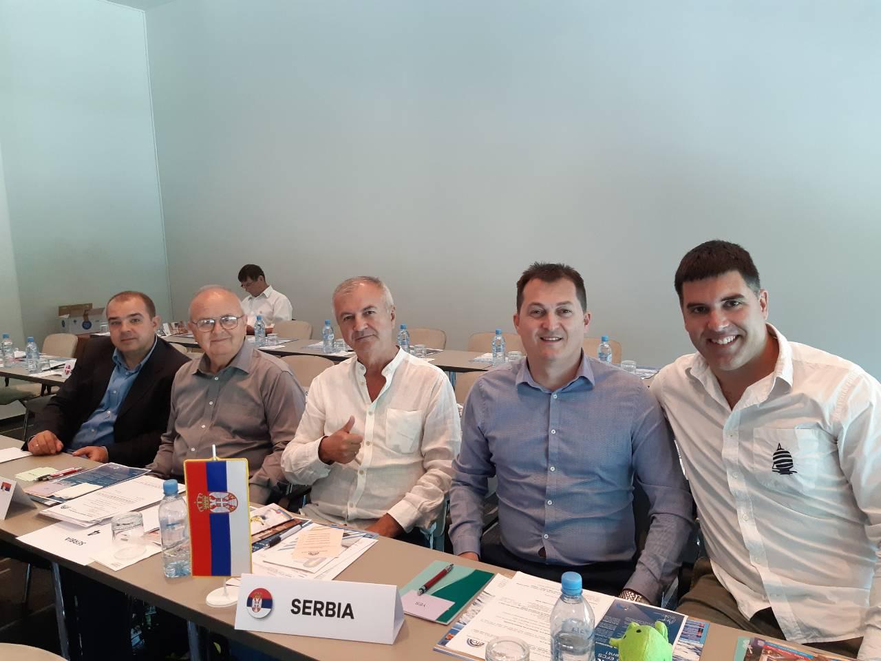 Delegacije Srbije na Generalnoj Skupštini Evropske federacije kompanijskog sporta (EFCS)